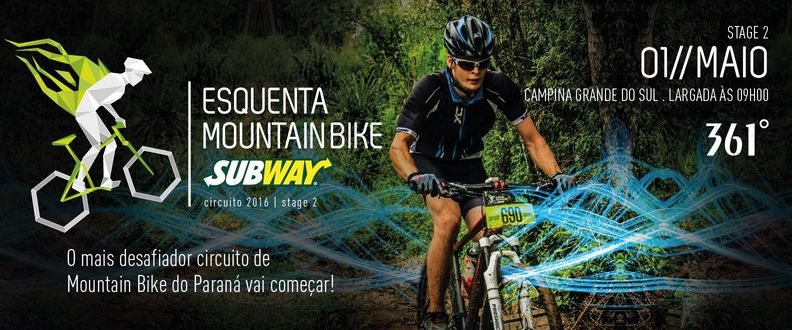 Esquenta Mountain Bike SUBWAY® - 2º Etapa