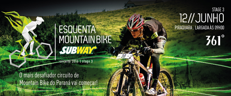 Esquenta Mountain Bike SUBWAY® 3º Etapa -Piraquara