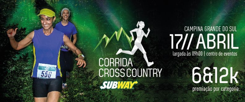 Corridas Cross Country SUBWAY® 1º Etapa - 2016