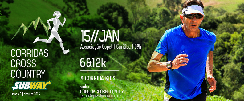 CORRIDA CROSS COUNTRY SUBWAY® - 5º ETAPA - ACC