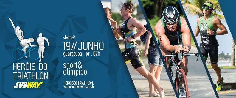 Heróis do Triathlon SUBWAY® 2016 - Etapa 2