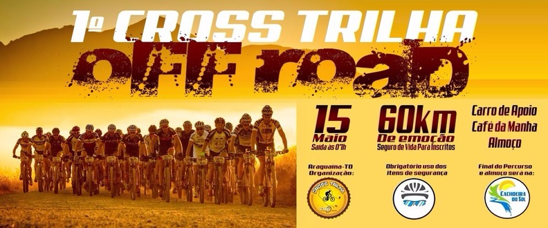 1º CROSS TRILHA OFF ROAD