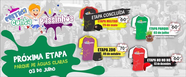 CORRIDA CONTA PASSINHOS - ETAPA PARQUE
