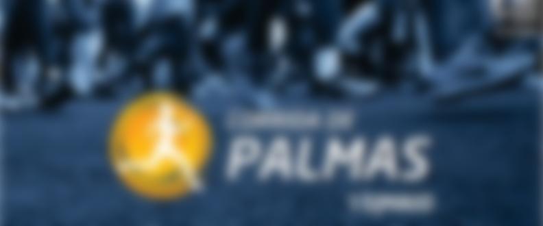 Banner corrida de palmas