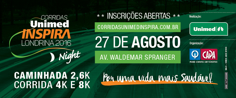 Corridas Unimed Inspira - Etapa Night