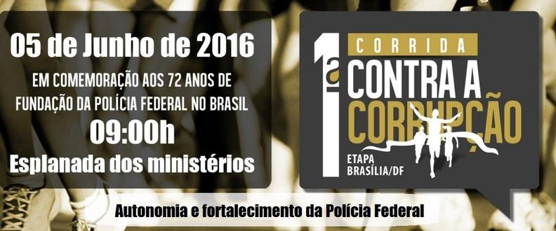 1ª Corrida Contra Corrupção - Etapa Brasília