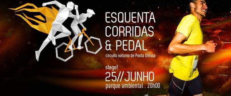 Esquenta Corridas e Pedal Ponta Grossa - 1ª ETAPA