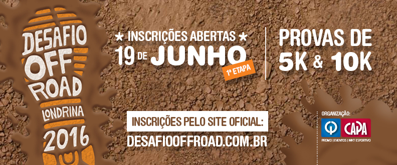 Desafio Off-Road 2016 – 1ºEtapa