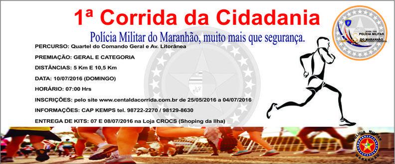 CORRIDA DA CIDADANIA 2016 - PMMA