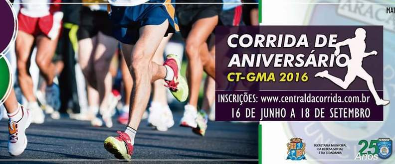 Corrida de Aniversário CT/GMA 2016