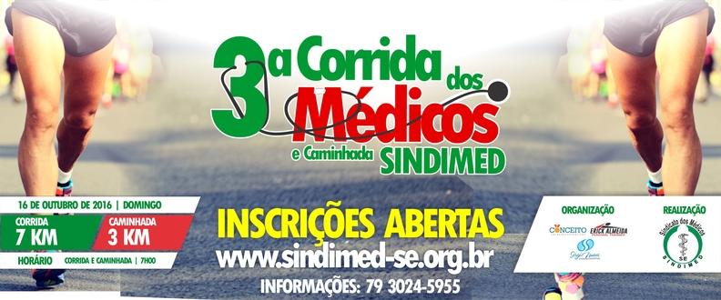 3ª CORRIDA DOS MEDICOS E CAMINHADA SINDIMED